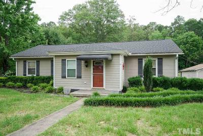 Granville County Single Family Home For Sale: 1104 West D Street