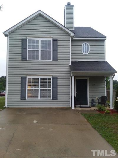 Raleigh NC Single Family Home For Sale: $183,000