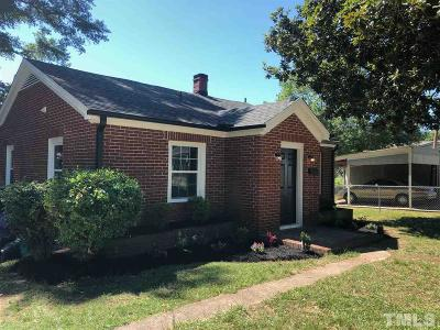 Franklinton Single Family Home For Sale: 202 Mitchell Avenue