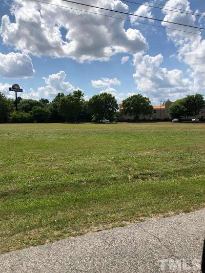 Harnett County Commercial Lots & Land For Sale: E Pearsall Street