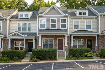 Raleigh Townhouse For Sale: 8806 Orchard Grove Way