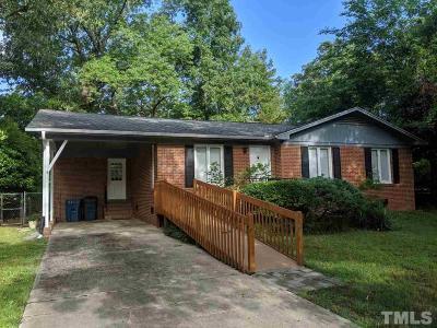 Durham Single Family Home For Sale: 3326 Swansea Street