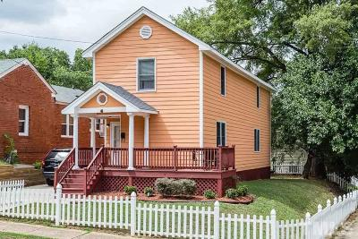 Raleigh Single Family Home For Sale: 561 E Edenton Street