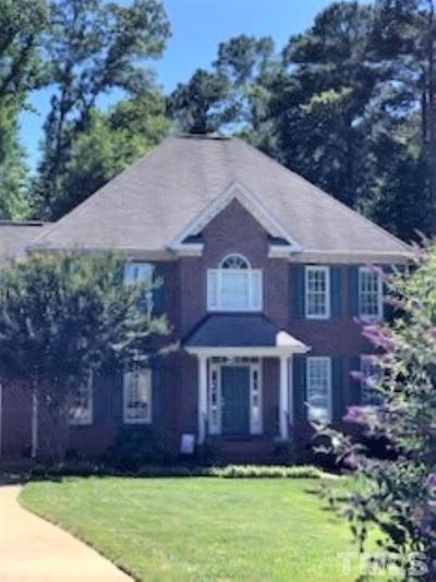 Raleigh Single Family Home Contingent: 7921 Pine Timber Drive