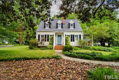 Hillsborough Single Family Home For Sale: 221 E Queen Street