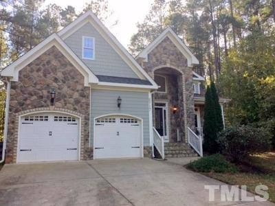 Wake Forest Single Family Home For Sale: 8717 Carradale Court