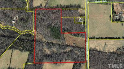 Orange County Residential Lots & Land For Sale: 1820 Efland Cedar Grove Road