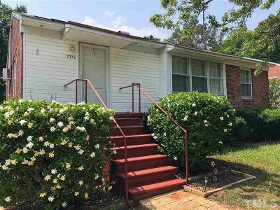 Raleigh Rental For Rent: 2736 Layden Street
