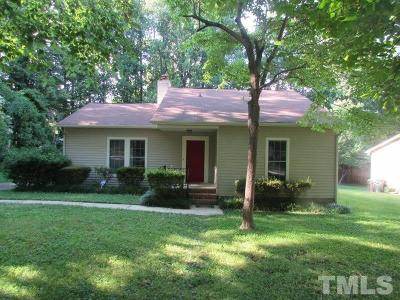 Cary Rental For Rent: 906 Castalia Drive