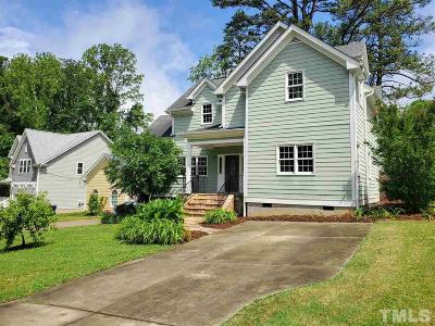 Raleigh Rental For Rent: 809 Edmund Street