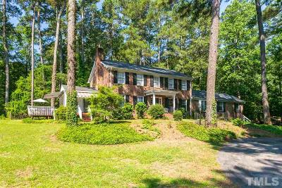 Wake County Single Family Home For Sale: 5901 Castlebrook Drive