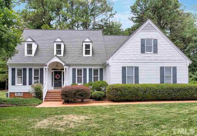 Cary Single Family Home Contingent: 112 Meadowglades Lane