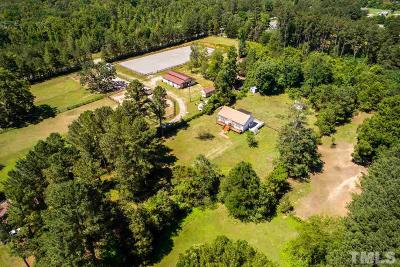Pittsboro Single Family Home For Sale: 302 Castle Rock Farm Road