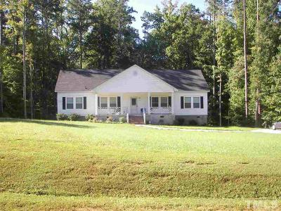 Henderson NC Single Family Home For Sale: $189,900