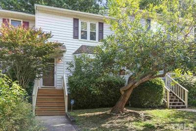 Raleigh Townhouse For Sale: 6780 Chauncey Drive