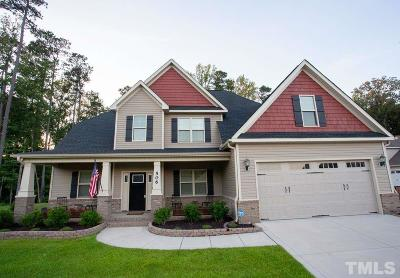Wendell Single Family Home Pending: 506 Carsons Creek Trail