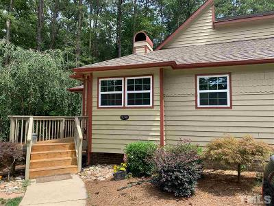 Johnston County Townhouse For Sale: 5208 Hogans Way
