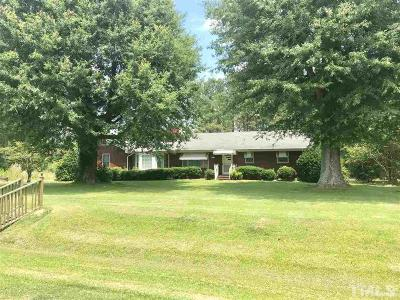 Franklin County Single Family Home For Sale: 115 Furney Pearce Road