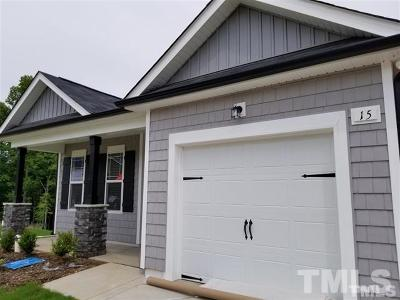 Johnston County Rental For Rent: 15 Griffith Place