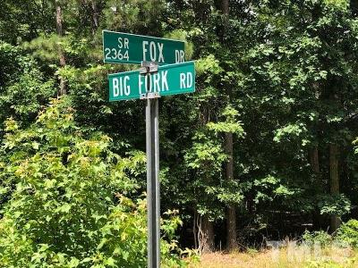 Durham County Residential Lots & Land For Sale: 2838 Fox Drive