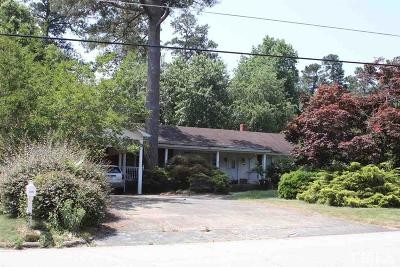 Raleigh Single Family Home Pending: 3441 Churchill Road