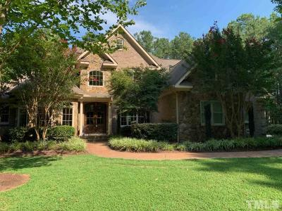 Hillsborough Single Family Home For Sale: 4004 Spring Lake Drive