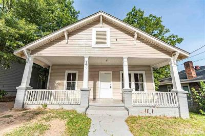 Durham Single Family Home For Sale: 1210 Ivy Street