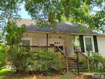 Durham Single Family Home For Sale: 807 N Duke Street