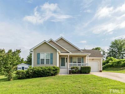 Wake Forest Single Family Home Contingent: 1405 Sweetclover Drive