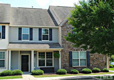 Wake Forest Townhouse For Sale: 4302 Hillsgrove Road