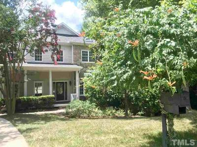 Chapel Hill Single Family Home For Sale: 183 Bear Tree Creek
