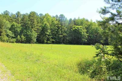 Granville County Residential Lots & Land For Sale: Lot 3 Lester McFarland Road