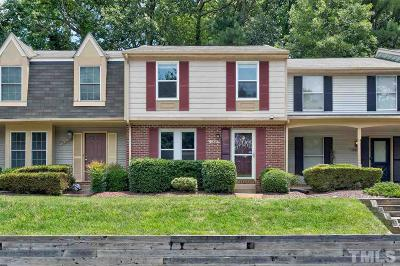 Raleigh Townhouse For Sale: 1825 Fox Sterling Drive