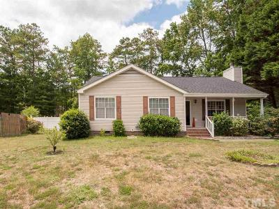 Wendell Single Family Home Contingent: 8 Beefeater Lane