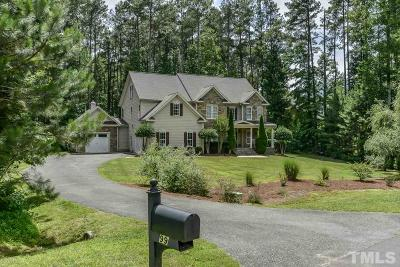 Wake County, Durham County, Chatham County, Orange County Single Family Home For Sale: 99 Grove Park Circle