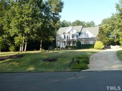 Wake Forest Single Family Home For Sale: 1001 Karbas Road