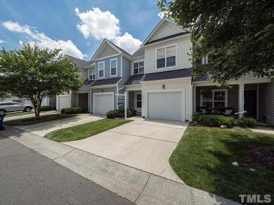 Raleigh Townhouse For Sale: 7309 Water Willow Drive