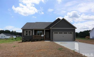 Zebulon Single Family Home For Sale: 61 Hawick Court