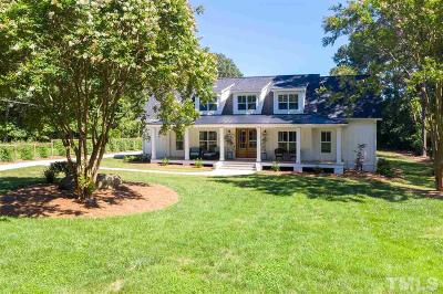 Wake County, Durham County, Chatham County, Orange County Single Family Home For Sale: 304 Dublin Road
