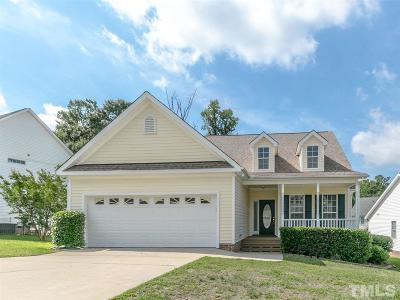 Wake Forest Single Family Home Contingent: 309 Angel Star Lane