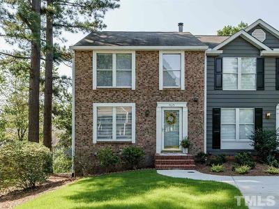 Raleigh Townhouse For Sale: 4615 Pine Trace Drive