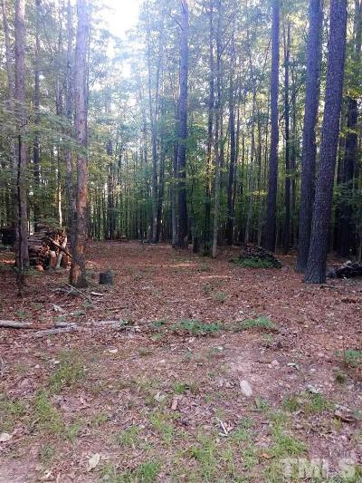 Granville County Residential Lots & Land For Sale: lot 3 Pebblebrook Drive