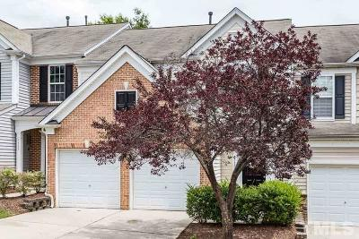 Raleigh Townhouse For Sale: 7719 Tanby Court