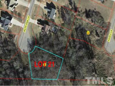 Lee County Residential Lots & Land For Sale: 0 LOT 21 Ruth Ann Lane