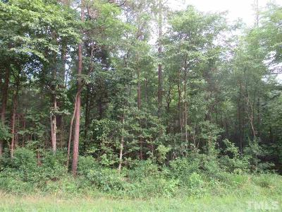Chatham County Residential Lots & Land For Sale: 9867 Nc 902 Highway