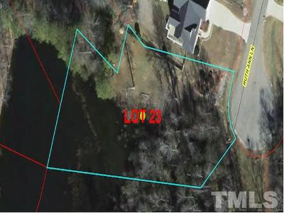 Lee County Residential Lots & Land For Sale: 0 LOT 23 Ruth Ann Lane