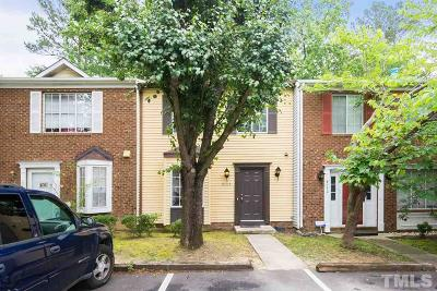 Raleigh Townhouse For Sale: 8132 McGuire Drive