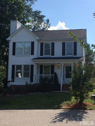 Raleigh Rental For Rent: 5309 Wenesly Drive