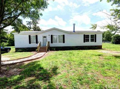 Johnston County Manufactured Home For Sale: 87 Holly Branch Lane