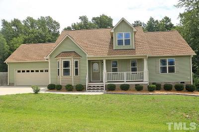 Angier Single Family Home For Sale: 31 Patterson Drive